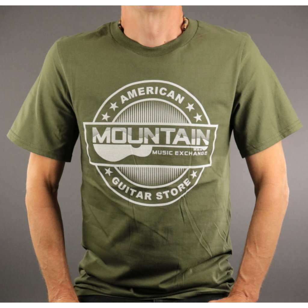 MME MME 'American Guitar Store' Tee - City Green - 2XL