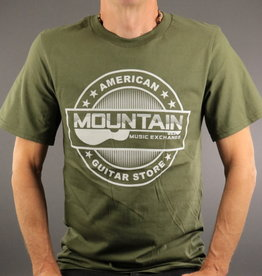 MME MME 'American Guitar Store' Tee - City Green - XL