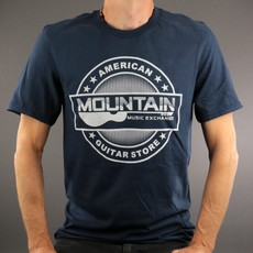 MME MME 'American Guitar Store' Tee - Navy - S