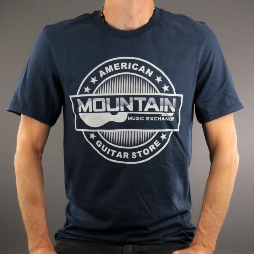MME MME 'American Guitar Store' Tee - Navy - L
