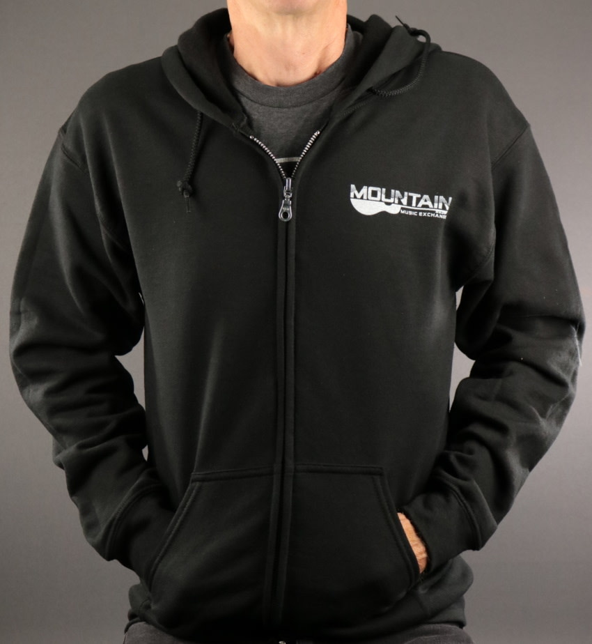 MME MME Zip Up Hoodie - Black - L