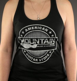 MME MME 'American Guitar Store Distressed Logo' Tank Top - Black - 2XL