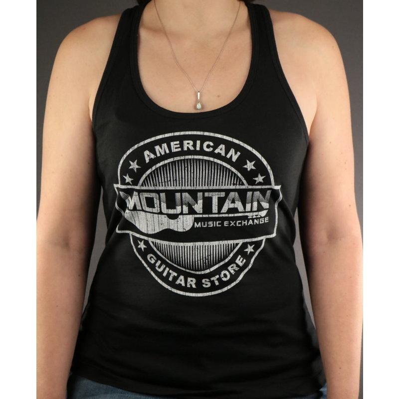 MME MME 'American Guitar Store Distressed Logo' Tank Top - Black - 2XL