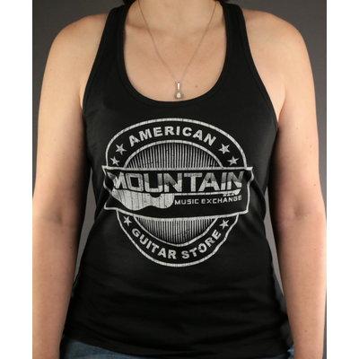 MME MME 'American Guitar Store Distressed Logo' Tank Top - Black - L