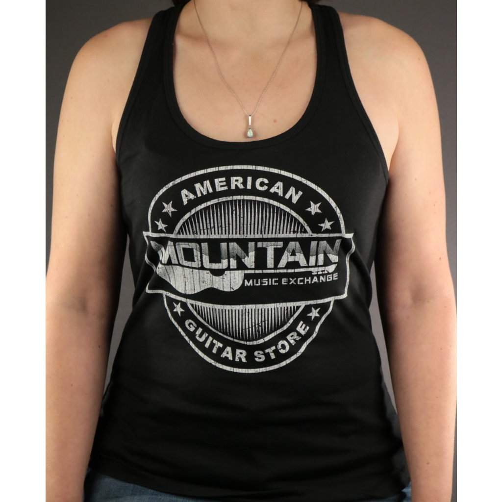 MME MME 'American Guitar Store Distressed Logo' Tank Top - Black - S