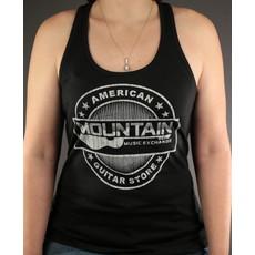 MME MME 'American Guitar Store Distressed Logo' Tank Top - Black - XL