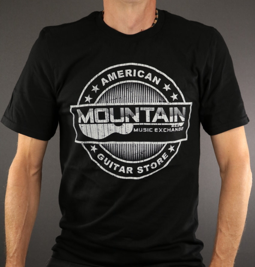 MME MME 'American Guitar Store Distressed Logo' Tee - Black - 2XL