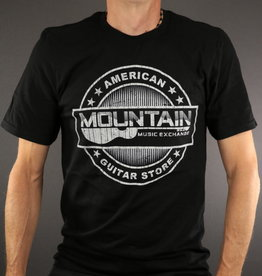 MME MME 'American Guitar Store Distressed Logo' Tee - Black - L