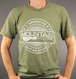 MME MME 'American Guitar Store Distressed Logo' Tee - Heather City Green - 3XL