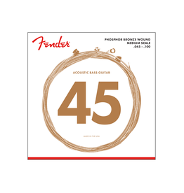 Fender NEW Fender Acoustic Bass Strings - Phosphor Bronze - .045-.100