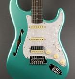 Fender NEW Fender Rarities Stratocaster Thinline HSS - Mystic Seafoam Green (231)