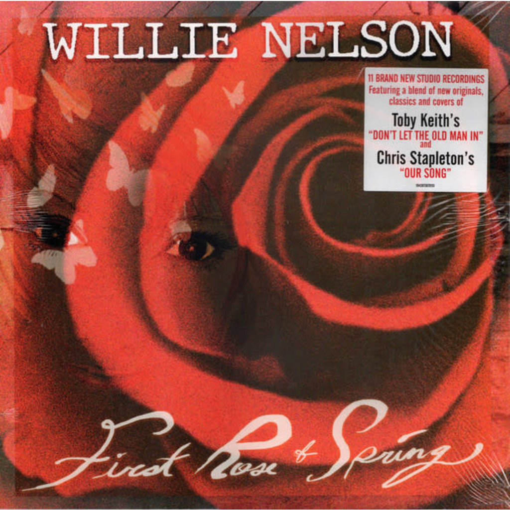 "Vinyl New Willie Nelson ""First Rose of Spring"" LP"