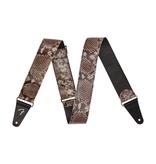 Fender NEW Fender Wild Faux Snakeskin Leather Strap