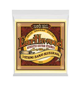 Ernie Ball NEW Ernie Ball Earthwood 80/20 banjo Strings - .009-.020