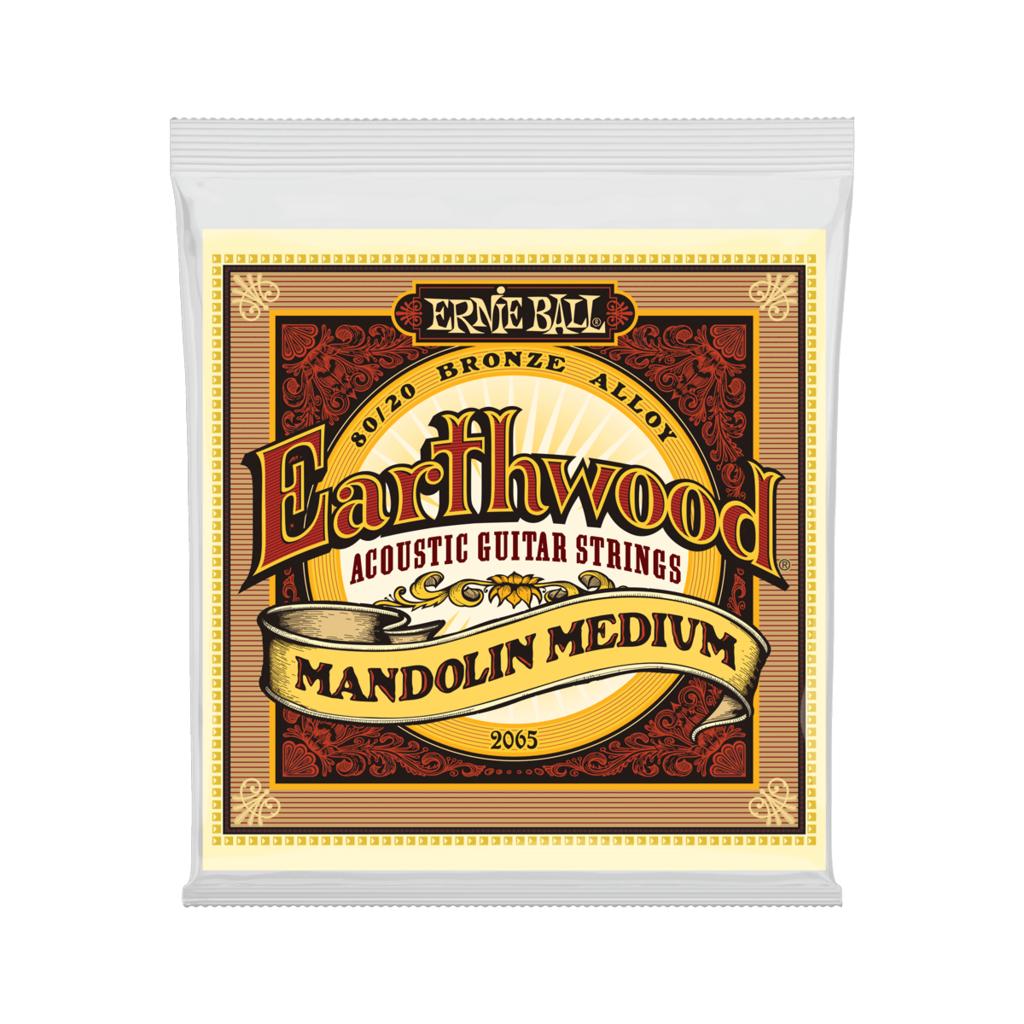 Ernie Ball NEW Ernie Ball Earthwood 80/20 Mandolin Strings - .010-.036