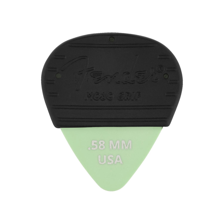 Fender NEW Fender Mojo Grip Picks 3-Pack - Dura-Tone Delrin - .58