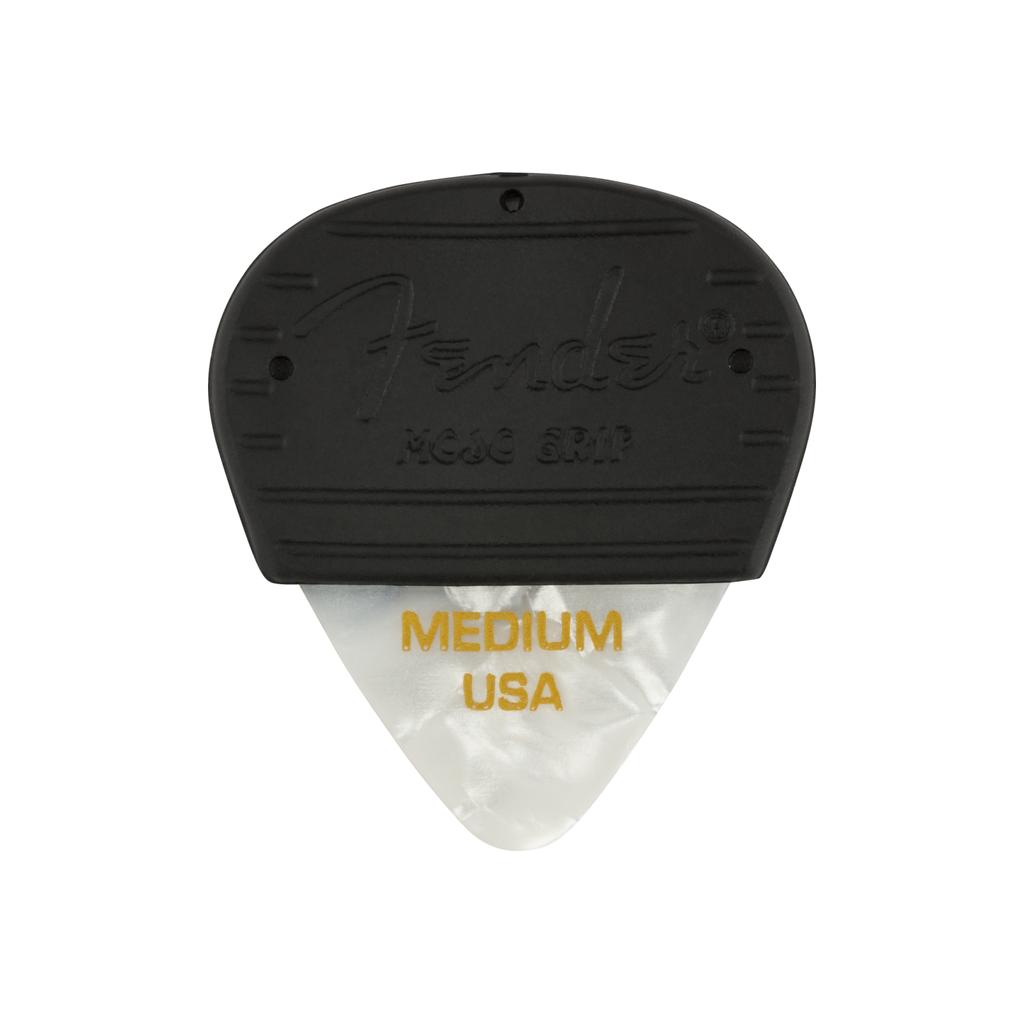 Fender NEW Fender Mojo Grip Picks 3-Pack - White Moto - Medium