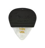 Fender NEW Fender Mojo Grip Picks 3-Pack - White Moto - Thin
