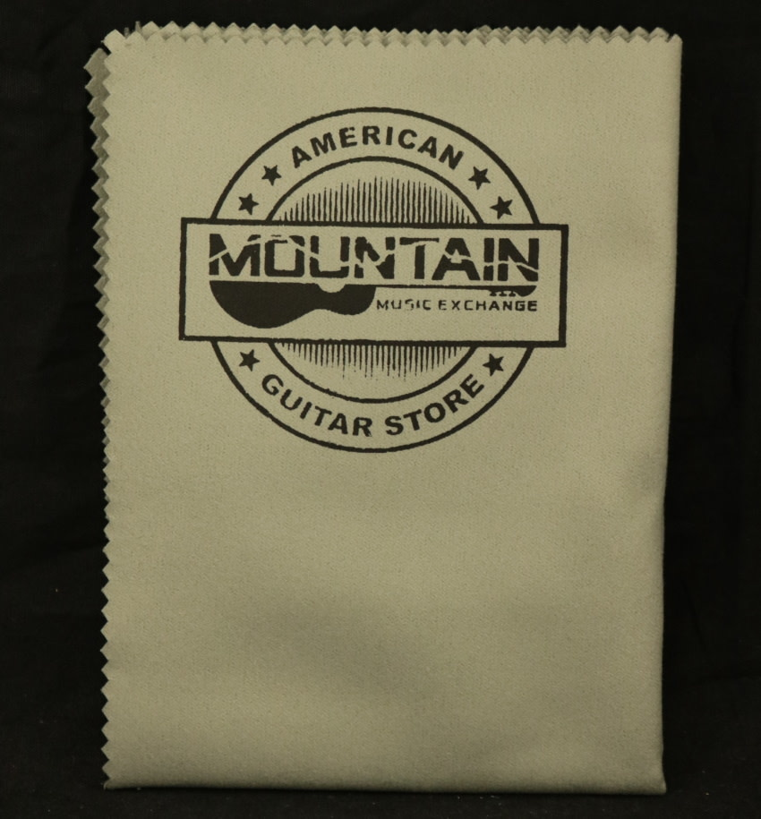 MME NEW Mountain Music Exchange 'American Guitar Store' Polishing Cloth