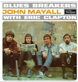 """Vinyl NEW  John Mayall & The Bluesbreakers  """"Blues Breakers With Eric Clapton"""" Album, Limited Edition, Reissue, Light Blue"""