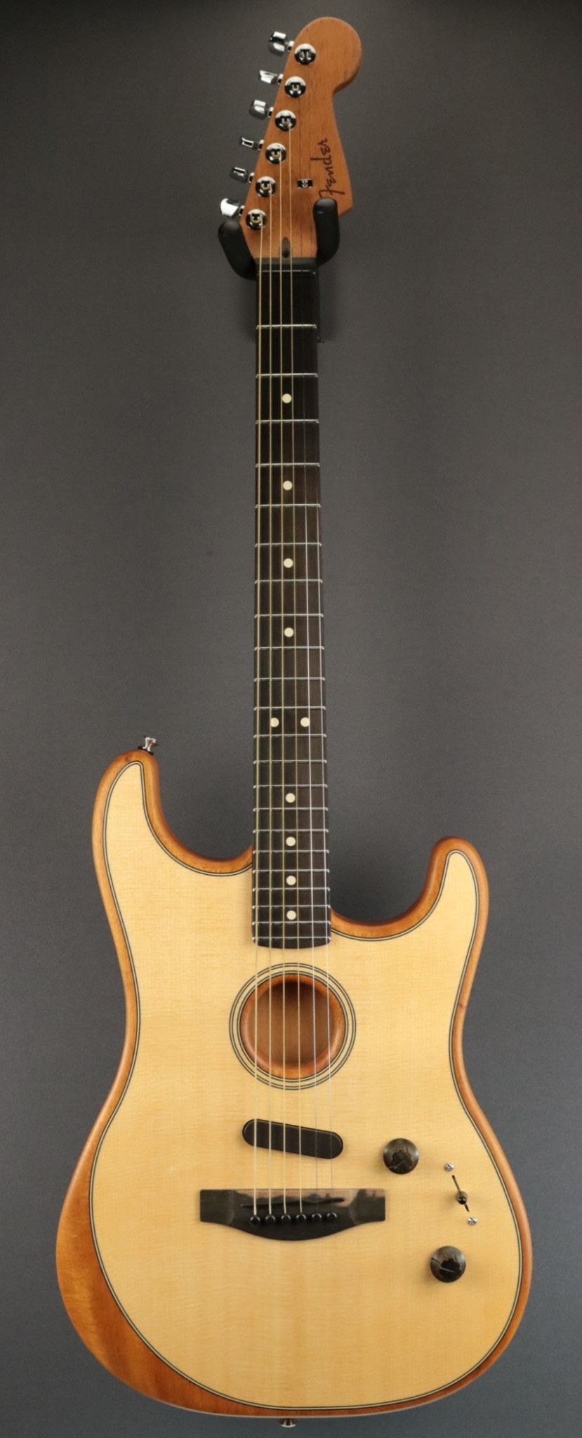 Fender NEW Fender American Acoustasonic Strat - Natural (307)