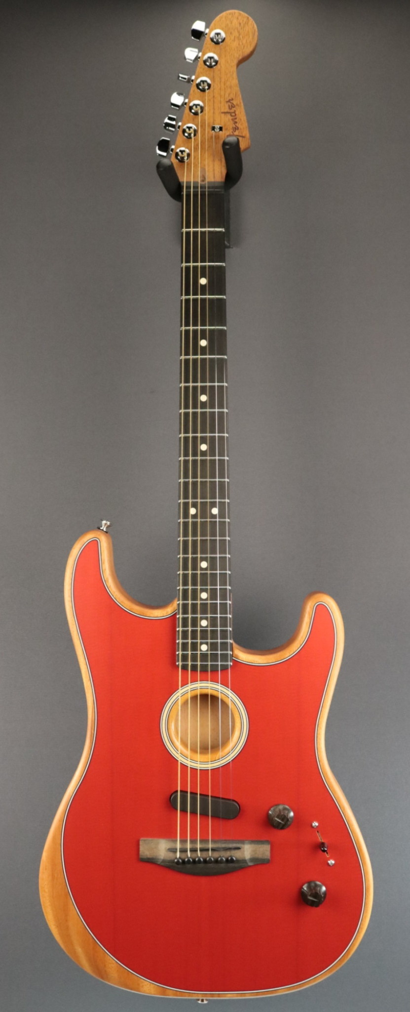Fender NEW Fender American Acoustasonic Strat - Dakota Red (221)