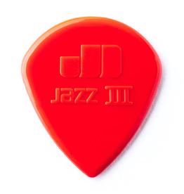 Dunlop NEW Dunlop Picks - Jazz III Red - 6 Pack