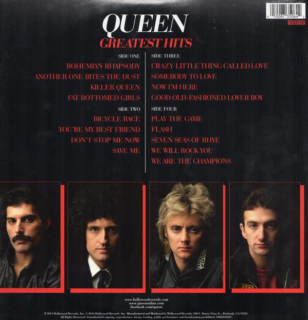 Vinyl NEW  Queen – Greatest Hits-Vinyl, LP, Compilation, Reissue, 180g