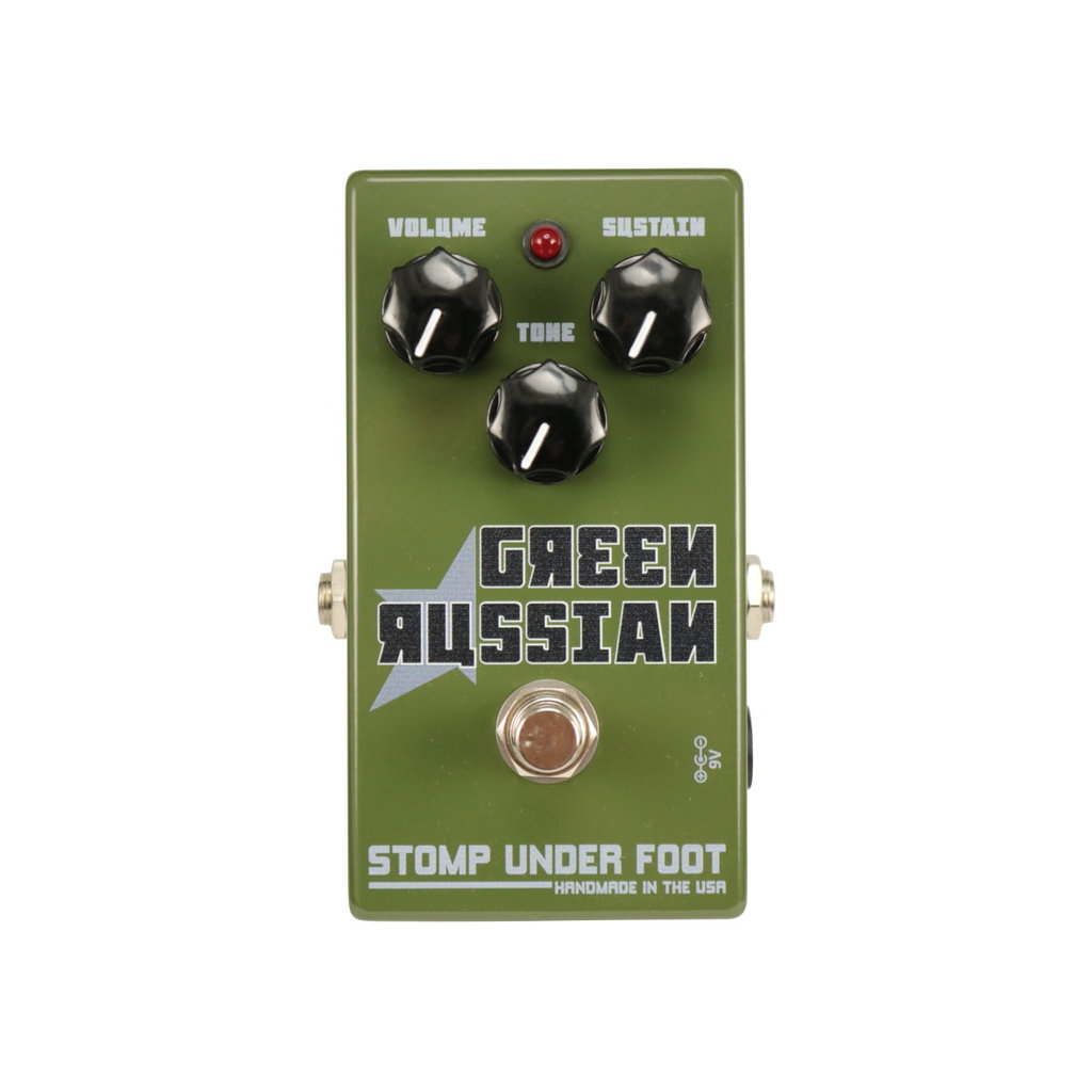 Stomp Under Foot NEW Stomp Under Foot Green Russian