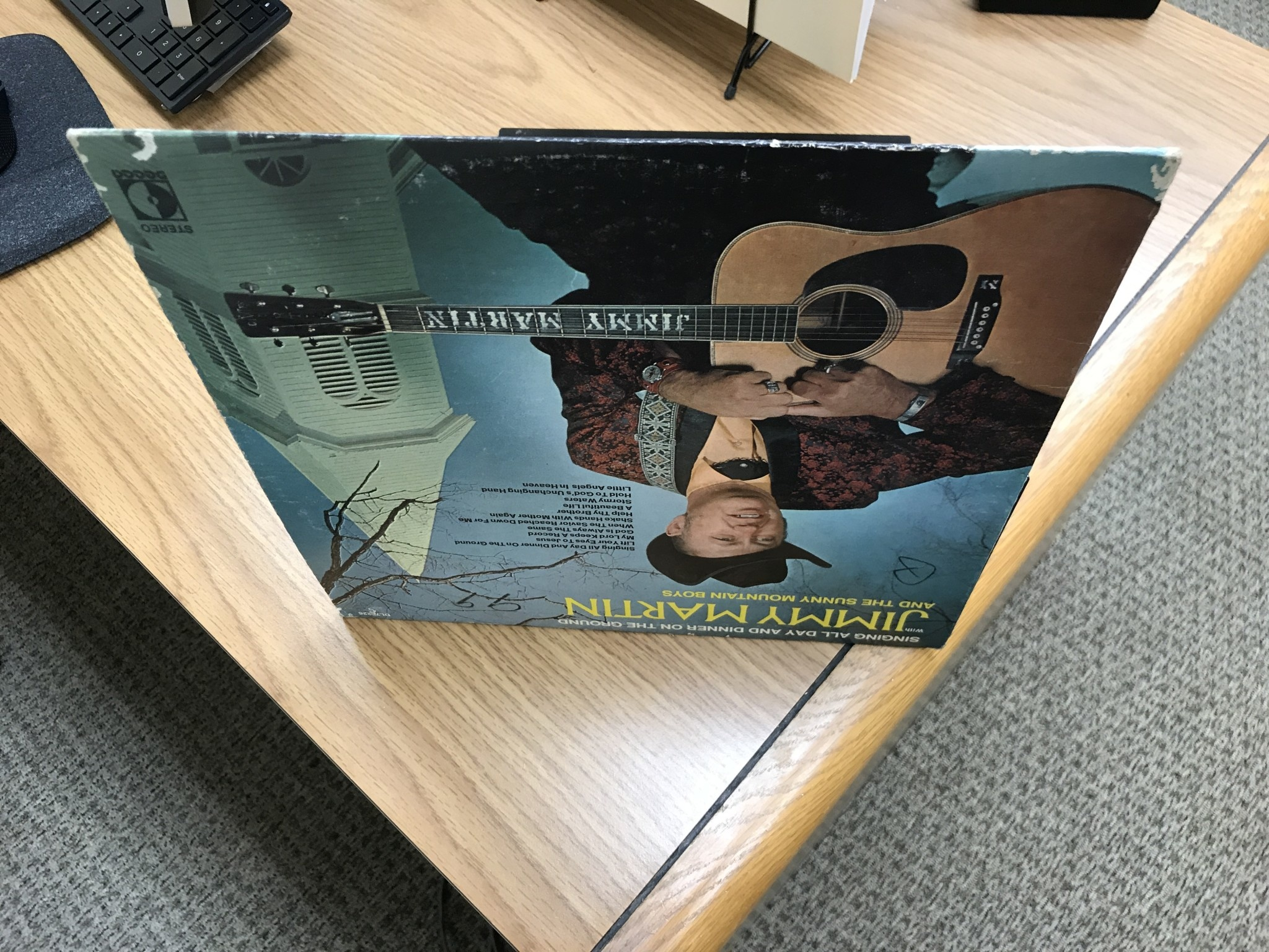 Vinyl Used  Jimmy Martin And The Sunny Mountain Boys – Singing All Day And Dinner On The Ground  LP