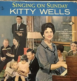 Vinyl Used  Kitty Wells – Singing On Sunday LP