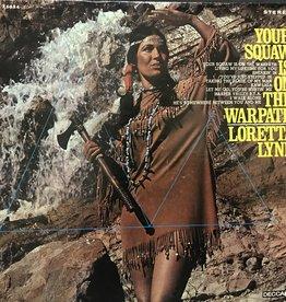 Vinyl Used  Loretta Lynn – Your Squaw Is On The Warpath  LP
