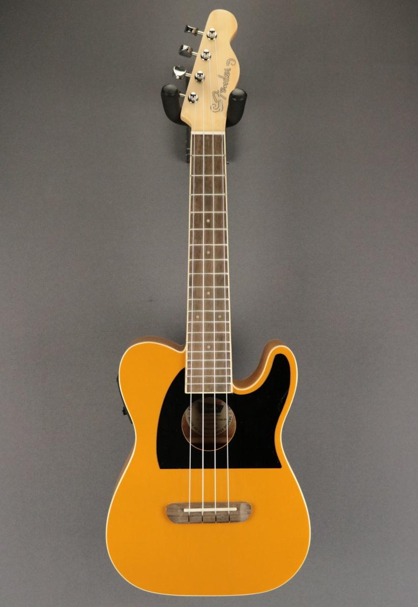 Fender DEMO Fender Fullerton Tele Ukulele - Butterscotch Blonde (192)