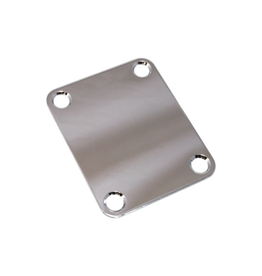 Allparts NEW Allparts Standard Neckplate - Nickel