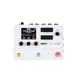 Line 6 NEW Line 6 HX Stomp Limited Edition - White