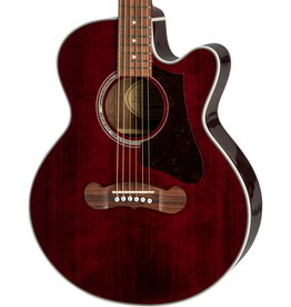 Epiphone NEW Epiphone EJ-200 Coupe- Wine Red (128)