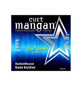 Curt Mangan NEW Curt Mangan Nickel Wound Bass Strings - .040-.100