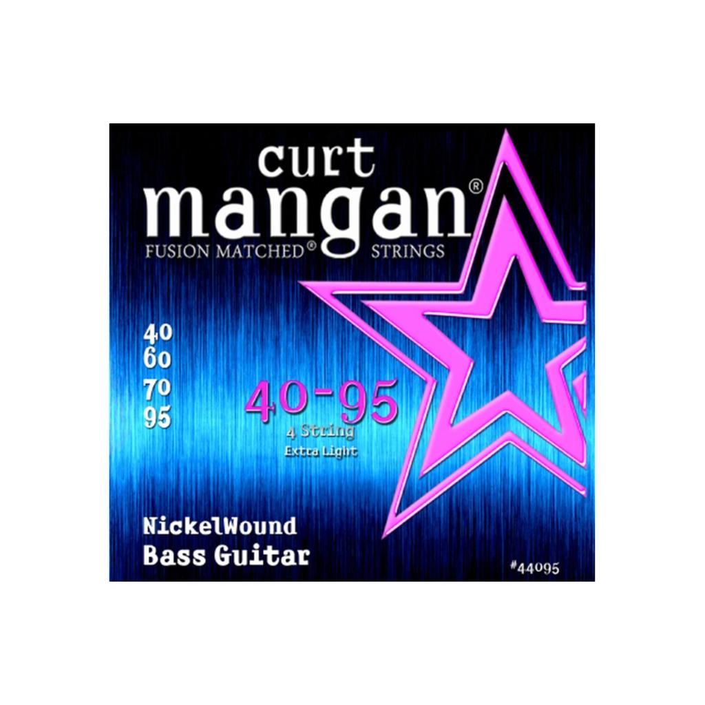 Curt Mangan NEW Curt Mangan Nickel Wound Bass Strings - .040-.095