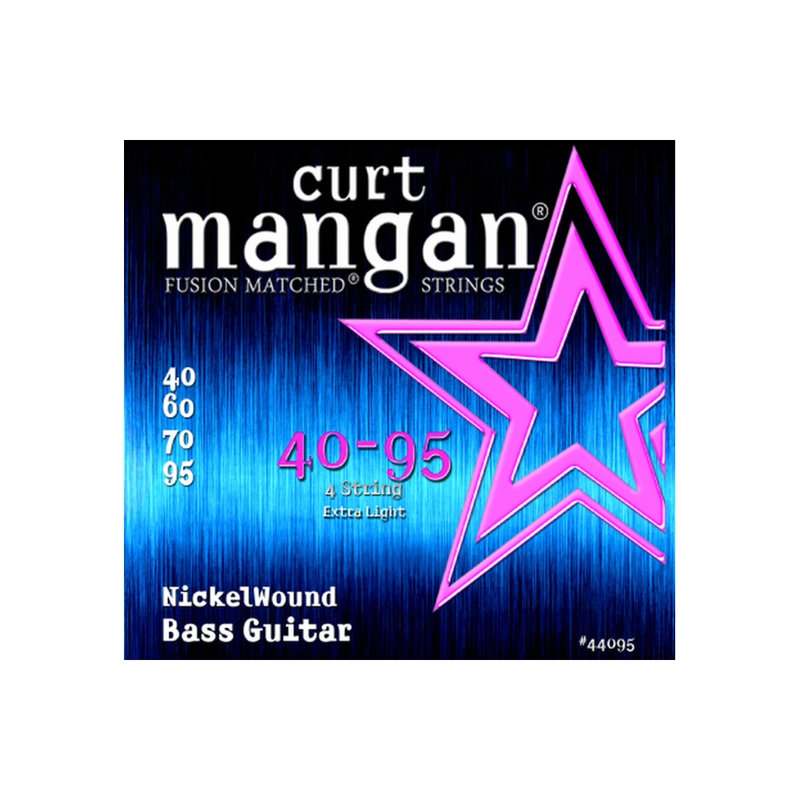Curt Mangan NEW Curt Mangan Nickel Wound Bass Strings - .040-.095