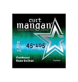Curt Mangan NEW Curt Mangan Flatwound Bass Strings - .045-.0105