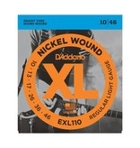 D'Addario NEW D'Addario EXL110 Nickel Wound Electric Strings - Regular Light  - .010-.046