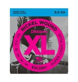 D'Addario NEW D'Addario EXL120+ Nickel Wound Electric Guitar Strings - Super Light Plus - .0095-.044
