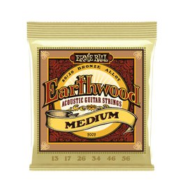 Ernie Ball NEW Ernie Ball Earthwood 80/20 Bronze - .013-.056