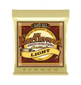 Ernie Ball NEW Ernie Ball Earthwood 80/20 Bronze - .011-.052