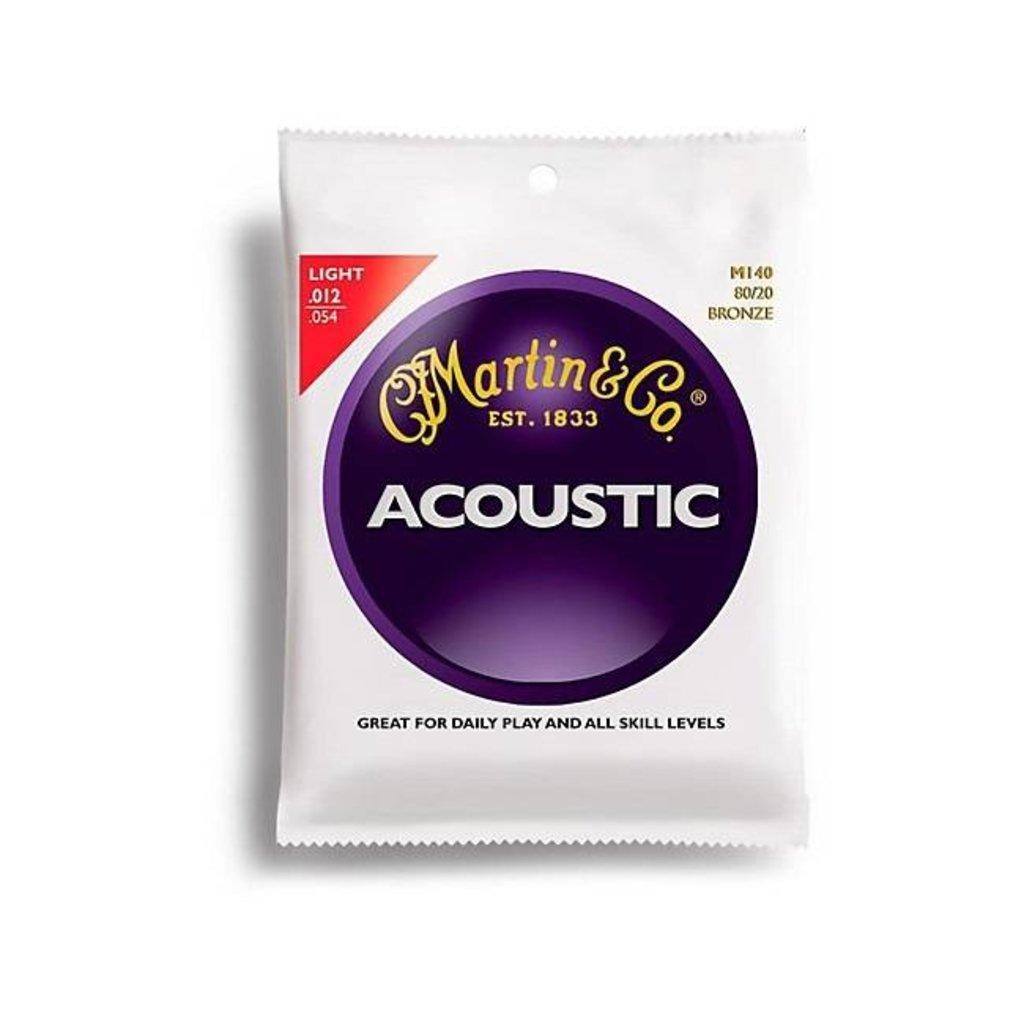 Martin NEW Martin MA140 Acoustic 80/20 - Light - .012-.054