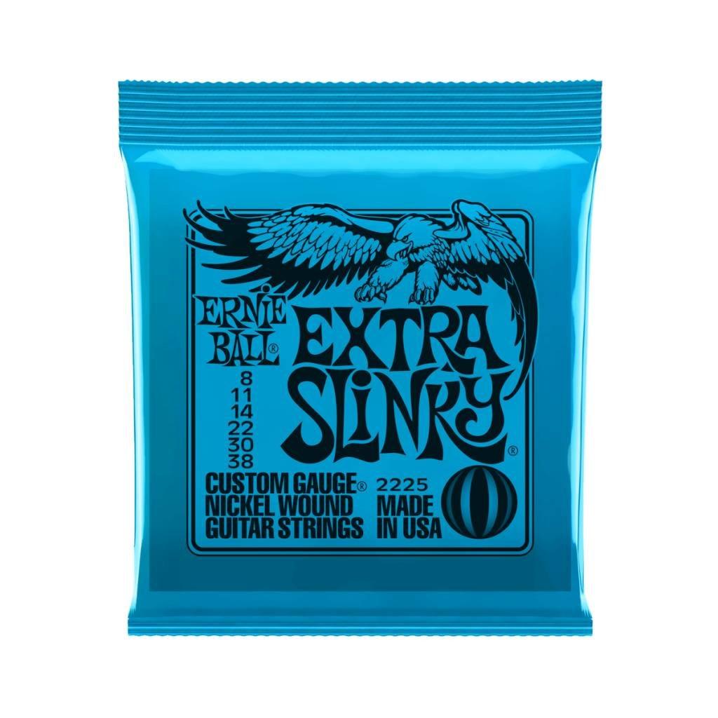 Ernie Ball NEW Ernie Ball Extra Slinky Electric Strings - .008-.038