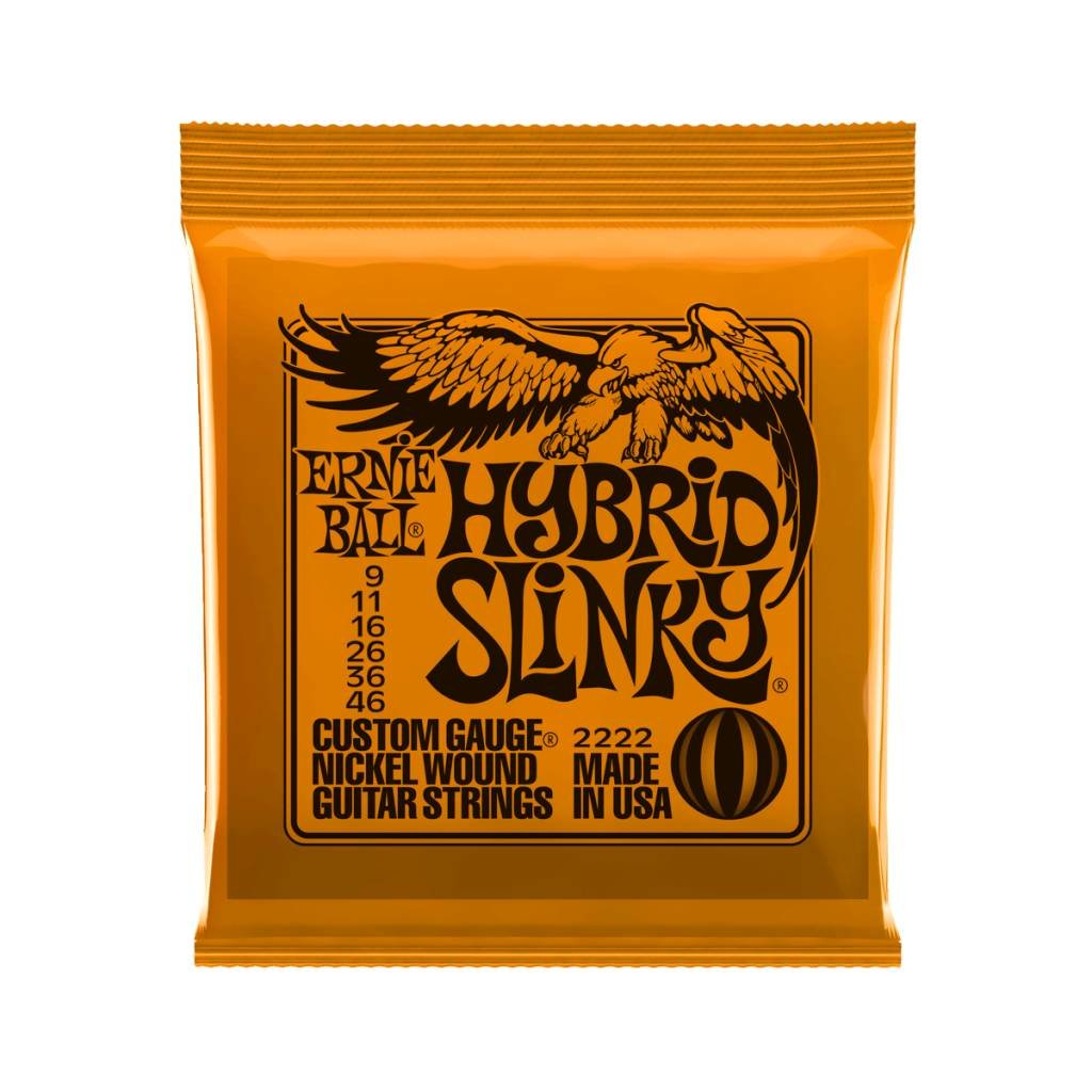 Ernie Ball NEW Ernie Ball Hybrid Slinky Electric Strings - .009-.046
