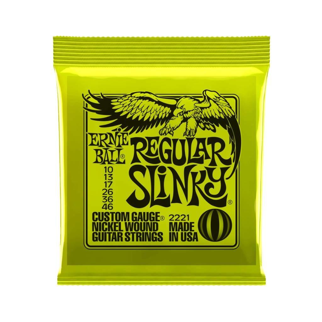 Ernie Ball NEW Ernie Ball Regular Slinky Electric Strings - .010-.046