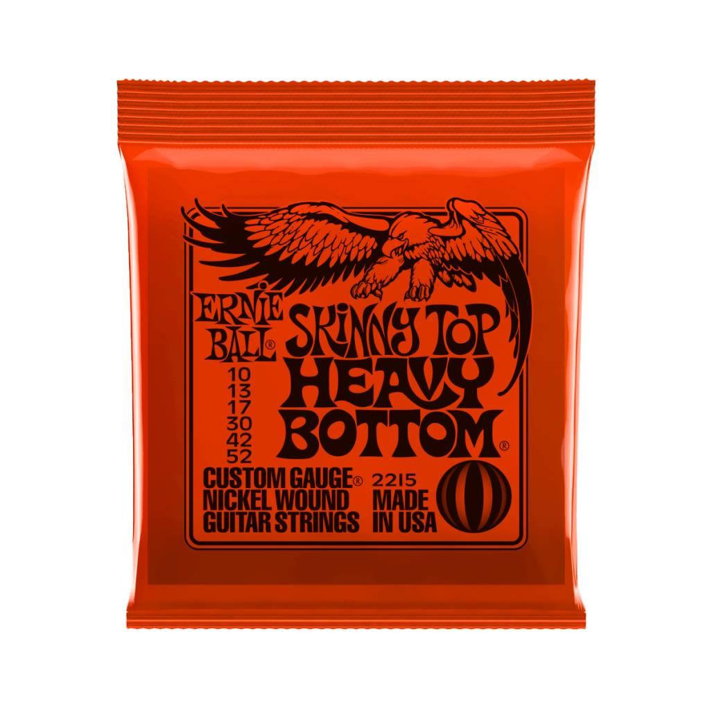 Ernie Ball NEW Ernie Ball Skinny Top Heavy Bottom Slinky Electric Strings - .010-.052