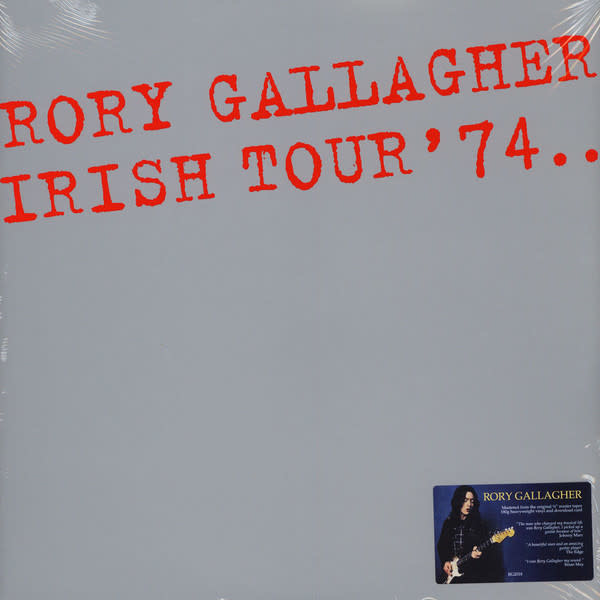 Vinyl NEW  Rory Gallagher ‎– Irish Tour '74.. - 2 × Vinyl, LP, Album, Reissue, Remastered, 180 Gram, Gatefold